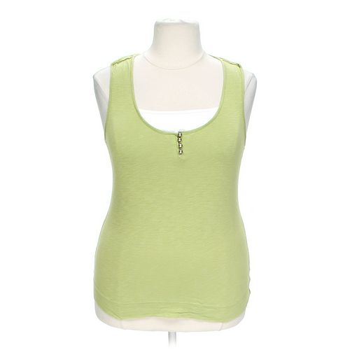 Style & Co Fashionable Tank Top in size L at up to 95% Off - Swap.com