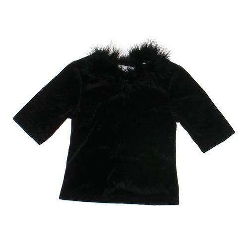 My Michelle Faux Fur Neckline Shirt in size 7 at up to 95% Off - Swap.com