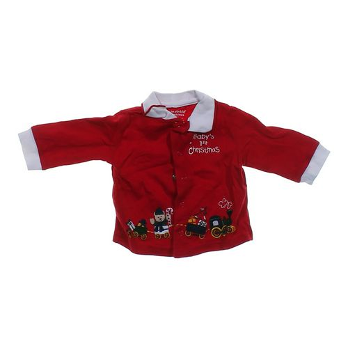 Okie Dokie Festive Cardigan in size 3 mo at up to 95% Off - Swap.com