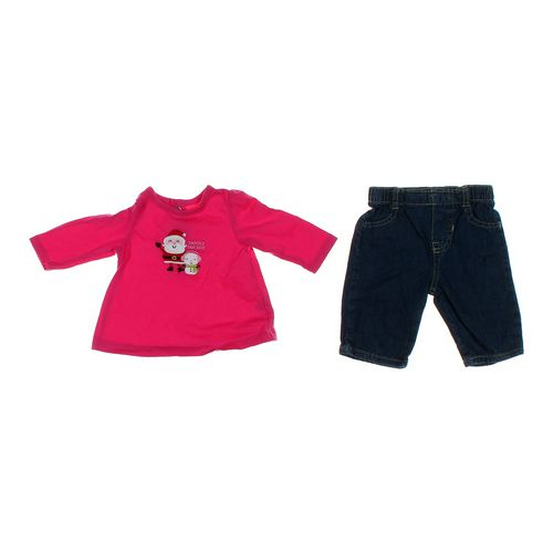 Child of Mine Festive Embroidered Shirt & Jeans Set in size NB at up to 95% Off - Swap.com