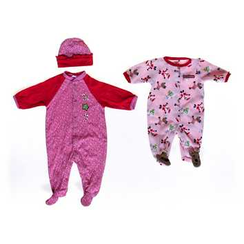 Festive Hat & Footed Pajamas Set\ for Sale on Swap.com