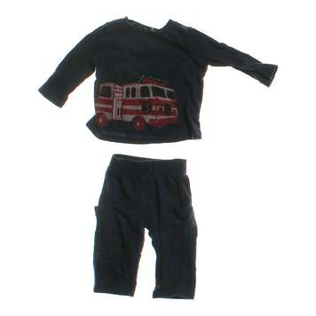 Firetruck Shirt & Pants Outfit for Sale on Swap.com