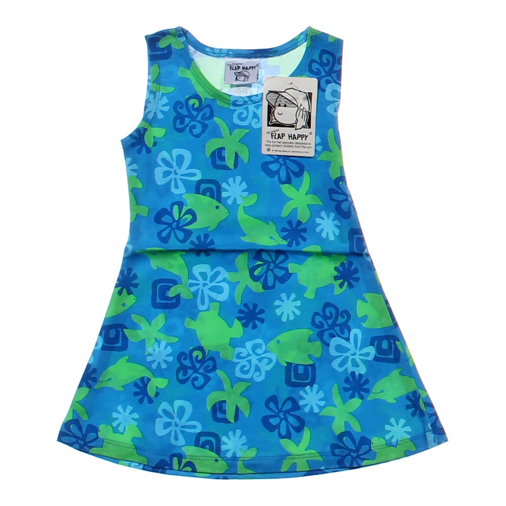 Flap happy fish print dress online consignment for Fish print dress