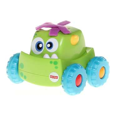 Fisher-Price Press 'n Go Green Monster Truck for Sale on Swap.com