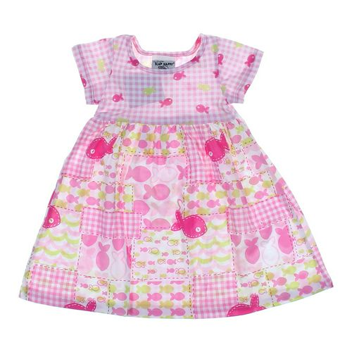 Flap Happy Fishy Gingham Dress in size 18 mo at up to 95% Off - Swap.com