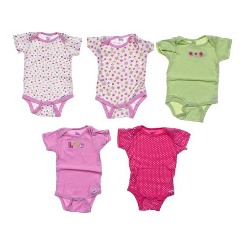 Gerber Five Piece Bodysuits Set in size 6 mo at up to 95% Off - Swap.com