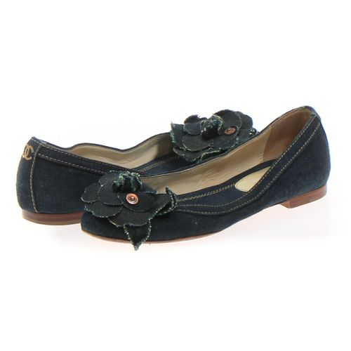 CHANEL Flats in size 6.5 Women's at up to 95% Off - Swap.com