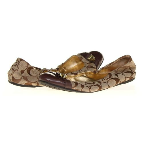Coach Flats in size 8.5 Women's at up to 95% Off - Swap.com
