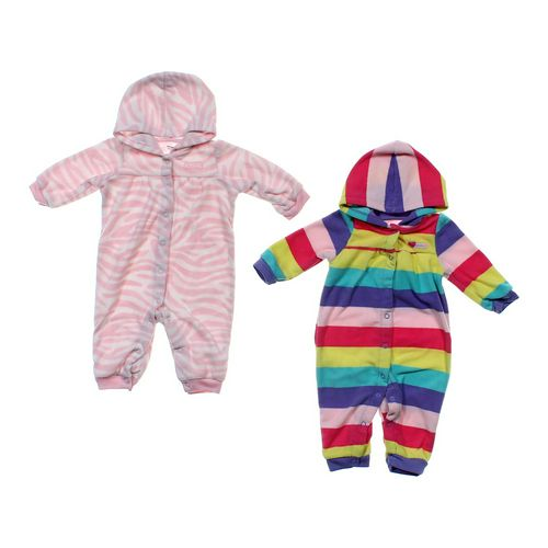 Carter's Fleece Hooded Jumpsuit Set in size 6 mo at up to 95% Off - Swap.com