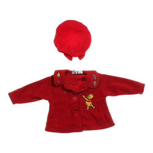 Disney Fleece Jacket & Hat Set in size 4/4T at up to 95% Off - Swap.com