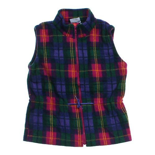 Genuine Kids from OshKosh Fleece Plaid Vest in size 6X at up to 95% Off - Swap.com
