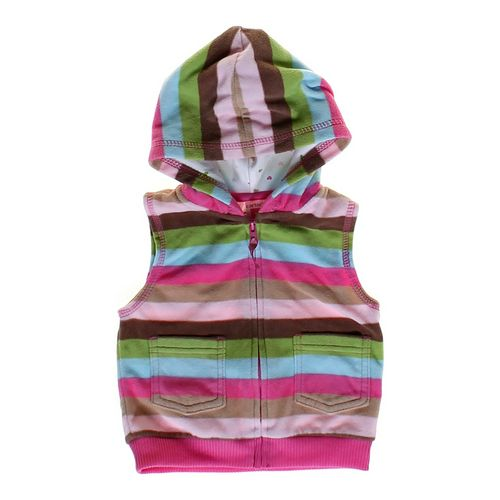 Carter's Fleece Striped Vest in size 12 mo at up to 95% Off - Swap.com