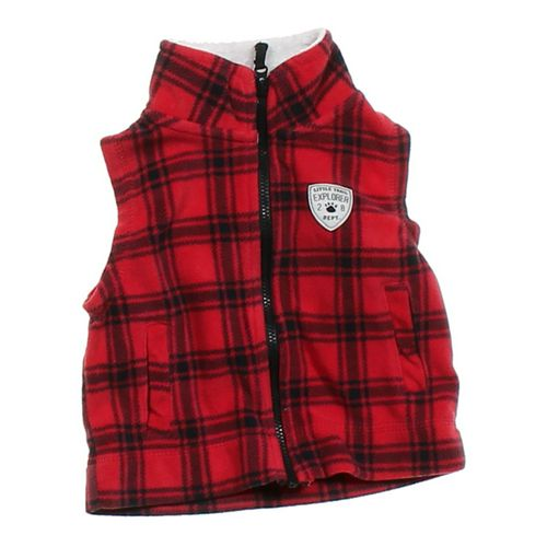 Carter's Fleece Vest in size 9 mo at up to 95% Off - Swap.com