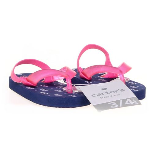 Carter's Flip-Flops in size 3.5 Infant at up to 95% Off - Swap.com