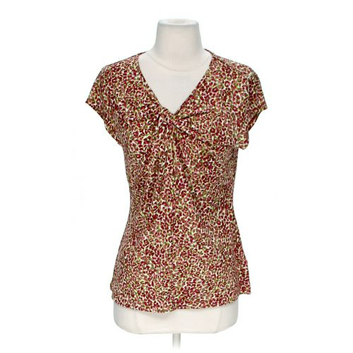 Liz Claiborne Floral Blouse in size M at up to 95% Off - Swap.com