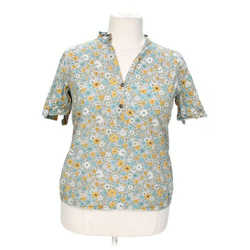 Mossimo Supply Co. Floral Blouse in size XXL at up to 95% Off - Swap.com