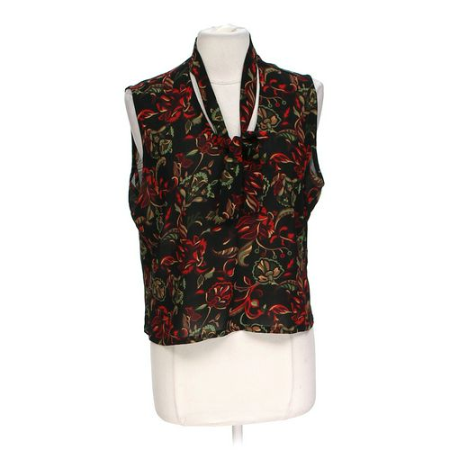 New York & Company Floral Blouse in size XL at up to 95% Off - Swap.com