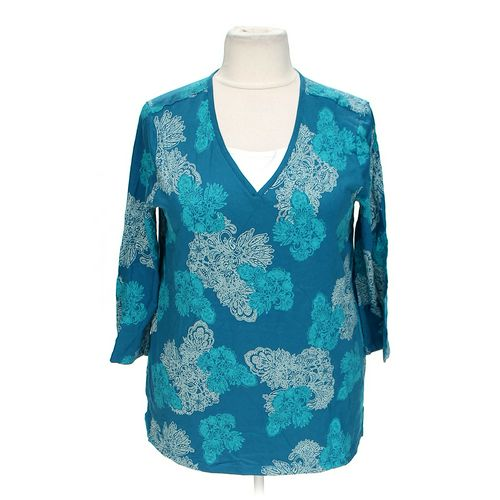 White Stag Floral Blouse in size PP at up to 95% Off - Swap.com