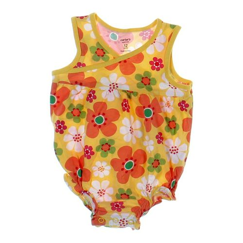 Carter's Floral Bodysuit in size 12 mo at up to 95% Off - Swap.com