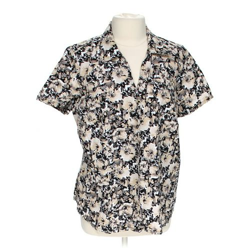 White Stag Floral Button-down Shirt in size 1X at up to 95% Off - Swap.com