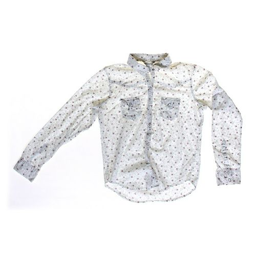 Aéropostale Floral Button-Up Shirt in size JR 1 at up to 95% Off - Swap.com