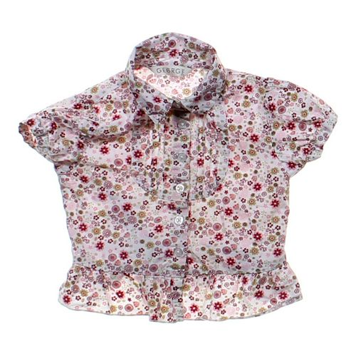 GEORGE Floral Button-up Shirt in size 24 mo at up to 95% Off - Swap.com