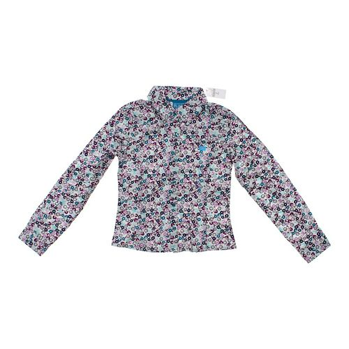 The Children's Place Floral Button-up Shirt in size 10 at up to 95% Off - Swap.com