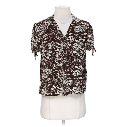 JM Floral Button-up Shirt in size 2 at up to 95% Off - Swap.com