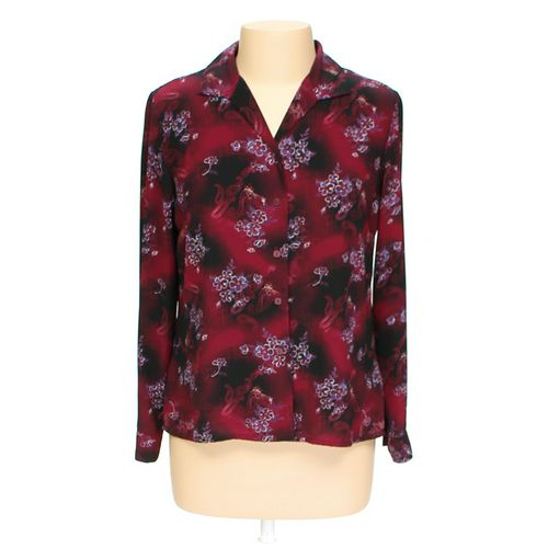 Laura Scott Floral Button-up Shirt in size 10 at up to 95% Off - Swap.com