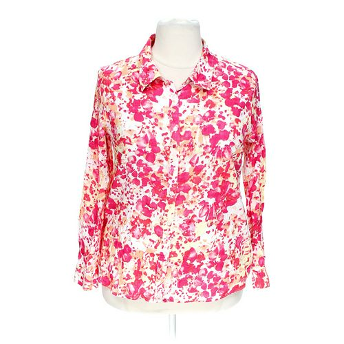 White Stag Floral Button-up Shirt in size XXL at up to 95% Off - Swap.com