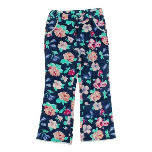 JK Kids Floral Corduroy Pants in size 8 at up to 95% Off - Swap.com
