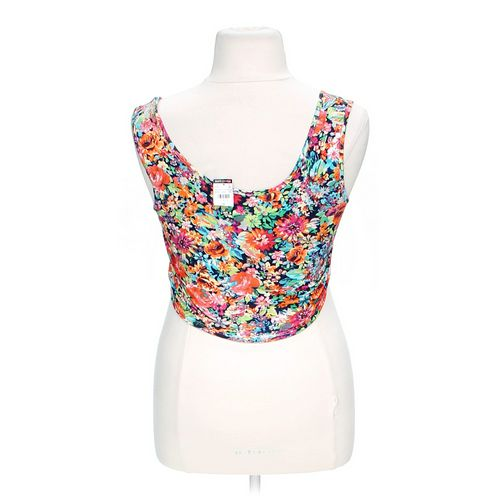 Body Central Floral Crop Top in size L at up to 95% Off - Swap.com