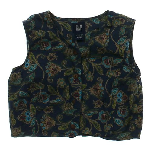 Gap Floral Cropped Vest in size 10 at up to 95% Off - Swap.com