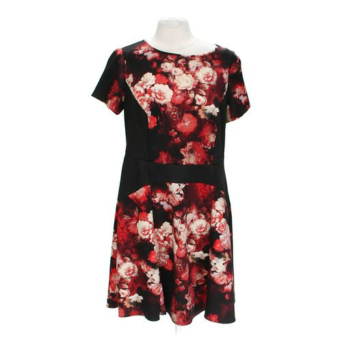 ADRIANNA PAPELL Floral Dress in size 14 at up to 95% Off - Swap.com