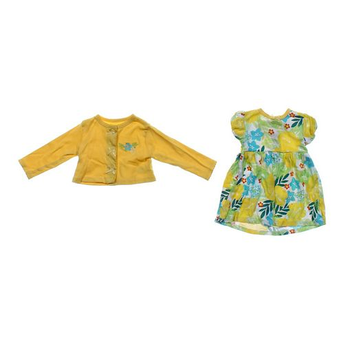 Vitamins Baby Floral Dress & Cardigan in size 9 mo at up to 95% Off - Swap.com