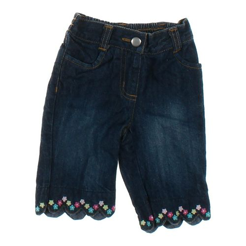 Gymboree Floral Embroidered Jeans in size 3 mo at up to 95% Off - Swap.com