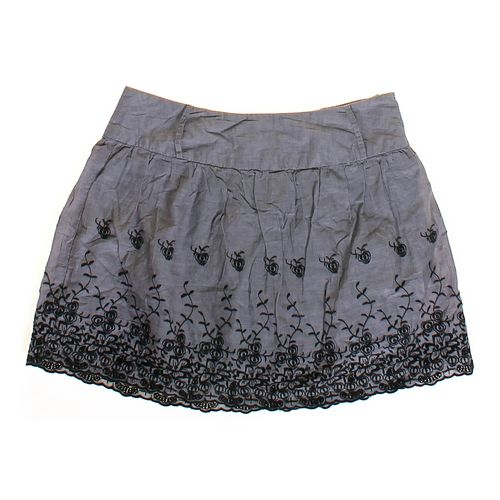 rue21 Floral Embroidered Skirt in size JR 7 at up to 95% Off - Swap.com