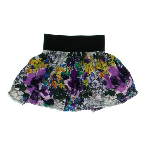 rue21 Floral Flare Skirt in size JR 3 at up to 95% Off - Swap.com