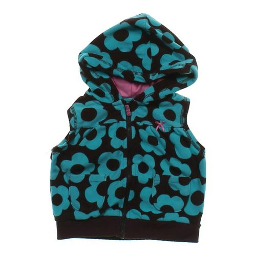 Carter's Floral Hooded Vest in size 18 mo at up to 95% Off - Swap.com