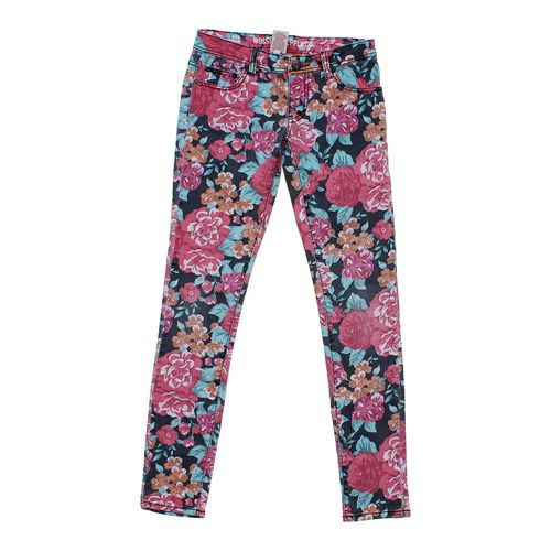 Mossimo Supply Co. Floral Jeans in size JR 1 at up to 95% Off - Swap.com