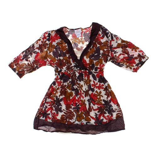 Oh Baby by Motherhood Floral Maternity Shirt in size M (8-10) at up to 95% Off - Swap.com