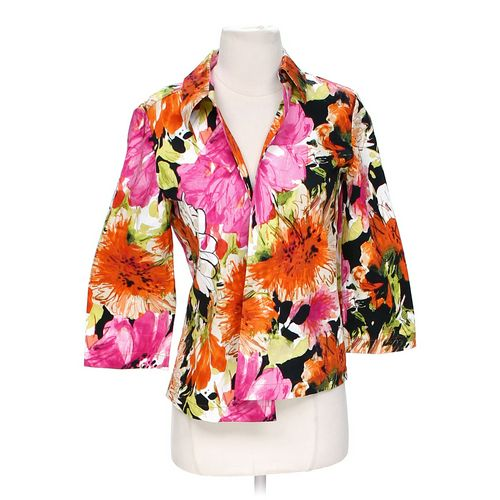 Floral Open Front Jacket in size S at up to 95% Off - Swap.com