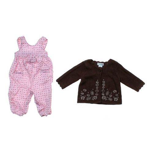 Carter's Floral Overalls & Cardigan in size 6 mo at up to 95% Off - Swap.com