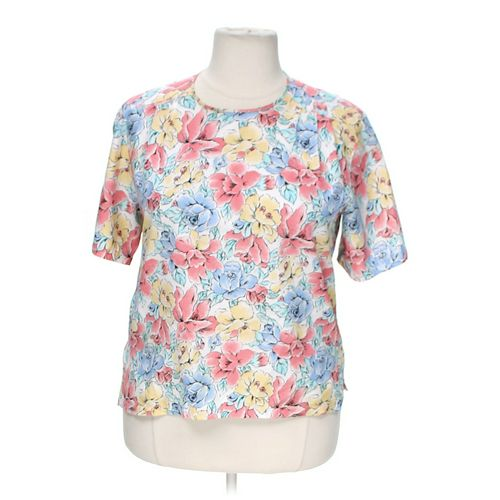 Josephine Chaus Floral Print Shirt in size 16 at up to 95% Off - Swap.com