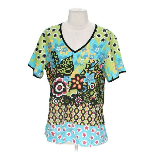 Actual Floral Scrub Top in size M at up to 95% Off - Swap.com