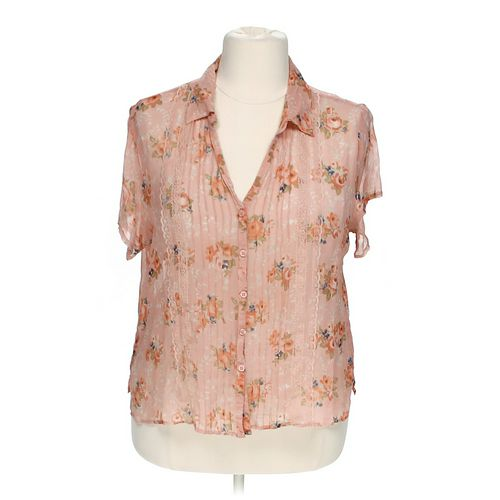 Seperate Floral Sheer Blouse in size 3X at up to 95% Off - Swap.com