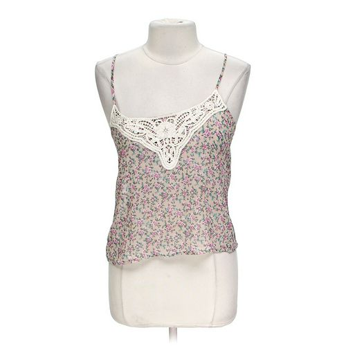 Liberty Love Floral Sheer Tank in size M at up to 95% Off - Swap.com
