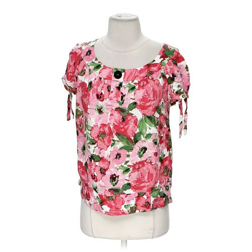 dressbarn Floral Shirt in size M at up to 95% Off - Swap.com