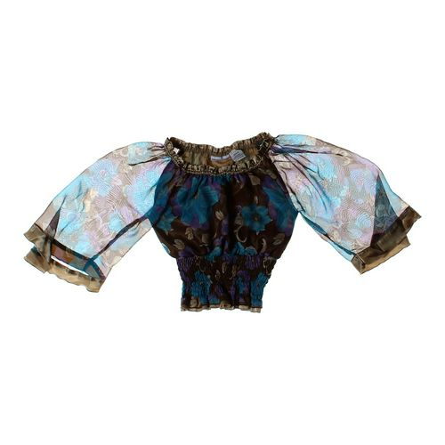 Mary-Kate and Ashley Floral Shirt in size JR 7 at up to 95% Off - Swap.com