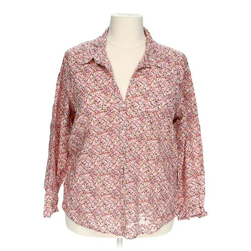 Merona Floral Shirt in size 2 at up to 95% Off - Swap.com